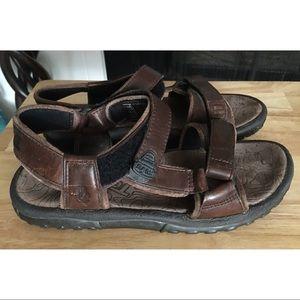 Teva Rugged Leather Trail Hiking Sandals Shoes